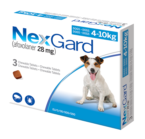 Two new claims for Nexgard range in EU and Australia