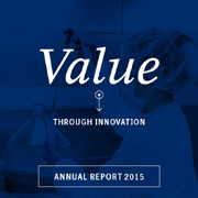Annual Report 2015: Value through innovation
